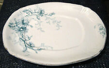Ridgway China Estrella Pattern sauce dish 8 inches by 6 inches