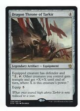 MTG Khans of Tarkir Rare Dragon Throne of Tarkir, M-NM has never been played.