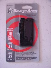 Savage 93 Series Blue Magazine 10 Round 17 HMR / 22 WMR #90010 NEW