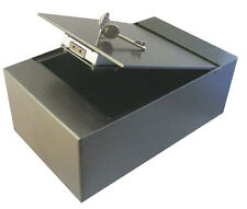 Asec Top Opening Key Opperated Cupboard Safe with £1000 Cash Rating 305mm