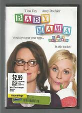 BABY  MAMA  *TINA FEY & AMY POEHLER*  FULL & WIDESCREEN FORMATS IN ONE DISC