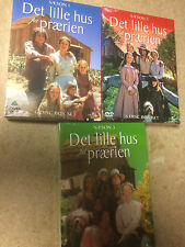 * DVDS TV NEW SEALED * THE LITTLE HOUSE ON THE PRAIRIE SEASONS 1 to 3 * sca