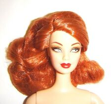 Nude Barbie Red Haired Redhead Bob Mackie Barbie Doll For Ooak bn991