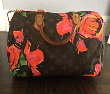 Louis Vuitton Monogram Roses Speedy  Stephen Sprouse Collection