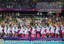 Coupure de Presse Clipping 2012 (8 pages) Jo Londres London  Nos Champions