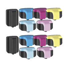 12PK Printer Ink Combo for use in HP 02 Photosmart C8180 D7260 D7160 D7360 D7460