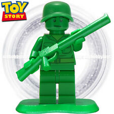 LEGO Toy Story Minifigure - Green Army Man c/w Stand & Rifle