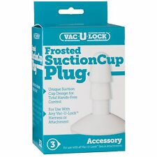 Doc Johnson - Vac-U-Lock - Frosted Suction Cup, #1010-08-BX, NEW