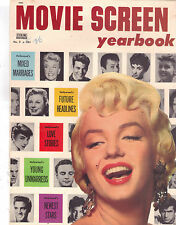 "MARILYN MONROE ""MOVIE SCREEN YEARBOOK"" MOVIE MAGAZINE. 1955. (COVER ONLY)."