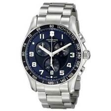 Swiss Army Victorinox 241652 Brand New CHRONO CLASSICS XLS Analog S.S. Watch