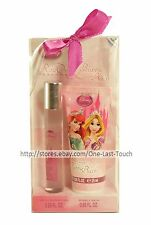 DISNEY PRINCESS 2pc Gift Set ROLL ON PERFUME+BUBBLE BATH Travel Size (Boxed)