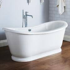 Alice Modern Designer Bathroom Double Ended Freestanding Roll Top Bath Tub