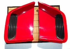 1994 Pontiac Firebird Red Hood Vents Inserts Left Right Factory OEM 1993 to 1997