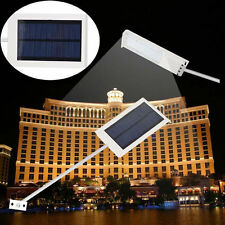 15W LED Solar Power Thin Waterproof Garden Wall Outdoor Street bright Light Lamp