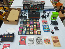 ATARI 2600 WOODY BOXED AV MODIFIED MINT 93 CLASSIC GAMES PLAY ON ANY TV!!