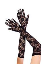 Elbow Length Lace Gloves USA Seller Prom Wedding Bridal Party Formal Dance Wear