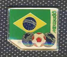1986 FIFA  WORLD CUP in Mexico team BRAZIL PIN Badge FOOTBALL Soccer BRASIL