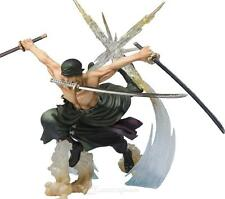 ONE PIÈCE - FIGURINE RORONOA ZORO BATTLE Version 17cm / 6.7""