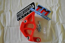 Honda TRX450r 450er 2006-2012 Plastic case saver sprocket guard TM Designs RED
