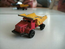COrgi Juniors Terex R35 Rear Dump truck in Red/Yellow