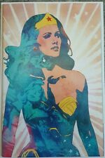 WONDER WOMAN 77 MEETS THE BIONIC WOMAN 1 FRIED PIE VIRGIN VARIANT NM+ 300 print