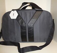 YSL L'HOMME Mens Parfum NWT Duffle Weekender Bag w/ Ajustable Shoulder Strap