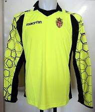AS MONACO 2012/13 GOALKEEPERS SHIRT BY MACRON ADULTS SIZE EU MEDIUM BRAND NEW
