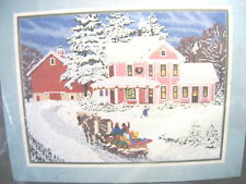 VTG Candamar Something Special HOME FOR THE HOLIDAYS Needlepoint Kit 30895 XMAS