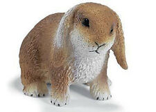 NEW SCHLEICH 14415 Dwarf Lop Eared Rabbit Farm Pet 5cm - RETIRED