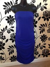 Zara Blue Evening Collection Dress, Size M, 28 EU, Very Good Used Condition