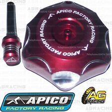 Apico Red Alloy Fuel Cap Breather Pipe For Honda CR 125 2001 Motocross Enduro