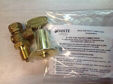GAS VALVE AND KEY COMBO FOR FIREPLACE GAS LOG FIRE PIT