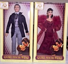 BARBIE 75th ANNIVERSARY GONE WITH THE WIND SCARLETT O'HARA AND RHETT BUTLER New