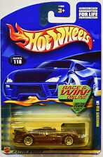 HOT WHEELS 2002 MERCEDES CLK - LM #118  RED
