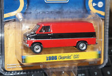 SPECIAL EDITION 1986 CHEVY G20 VAN DIECAST 1/64 SCALE CAR GREENLIGHT CHEVROLET