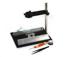 Repair Platform Tool Heat Hot Air Gun Clamp Tweezers Soldering Rework Station