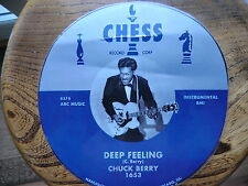 CHUCK BERRY NEW T SHIRT ROCKABILLY 50 S CHESS LABEL