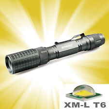 12000-Lumens 5-Modes Cree XMLT6 Tactical Protable Focus Flashlight Zoomable Lamp