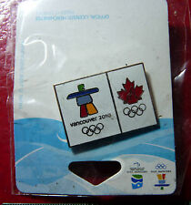Collectible Enamel Official Pin Vancouver 2010 Olympic Winter Games !