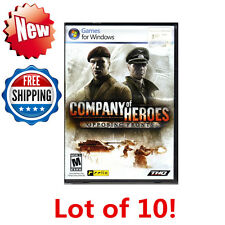 Lot 10 Company Of Heroes: Opposing Fronts - PC DVD Game 752919493267