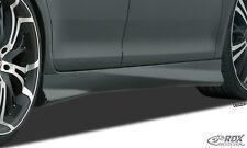 RDX Seitenschweller OPEL Corsa E Schweller links + rechts Spoiler ABS Turbo