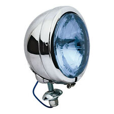 NEW Complete Passing Lamp for Harley-Davidson FL Models with Blue Lens