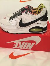 Nike Air Max Command GS FB niñas/damas entrenador/Zapato 705391-100 UK Size 4