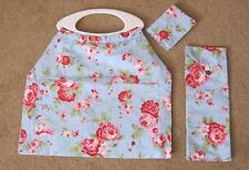 Floral Knitting Bag with matching Needle Case & Sewing Needle Case ** NEW**