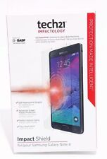 NEW Tech21 Impact Shield Self Heal Screen Protector for Samsung Galaxy Note 4
