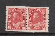 Canada #130i VF/NH Paste Up Pair **With Certificate**