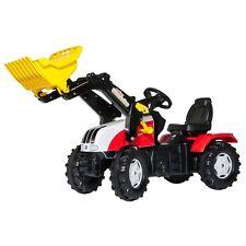 Rolly Toys Steyr CVT 6225 plus Traktor mit FrontladerTrettraktor rot