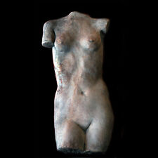 Nude Female (short) Wall Relief Sculpture Plaque