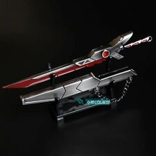 NEW League of Legends LOL Fiora Alloy Sword Weapon Model Toy Ornament