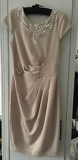 Lipsy London Dress 8 34 Blush Christmas Dinner Eve New Years Party